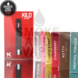 Kilo 1K Dewberry Fruit Lemon Berry Menthol Tobacco Nutty Smooth Tobacco Strawberry Replacement Pods $18.99