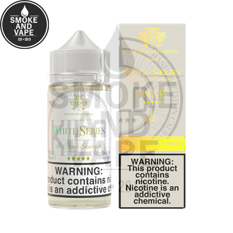 Ice Cream Sandwich by Kilo White Series 100ml