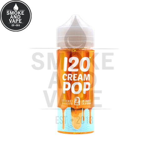 120 Cream Pop by Mad Hatter 120ml