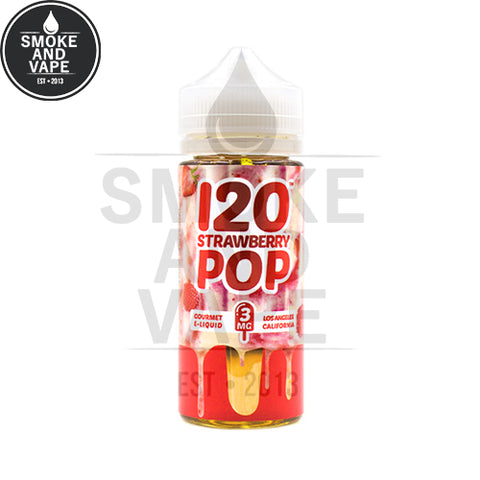 120 Strawberry Pop by Mad Hatter 120ml