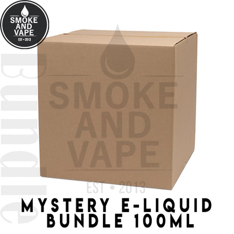 Mystery E-Liquid 100ml Bundle