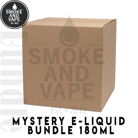 Mystery E-Liquid 180ml Bundle