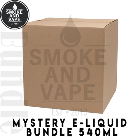 Mystery E-Liquid 540ml Bundle