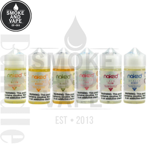 Naked 100 Combo Pack 60ml Bundle