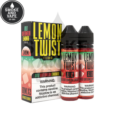 Wild Watermelon Lemonade by Lemon Twist E-Liquids 120ml