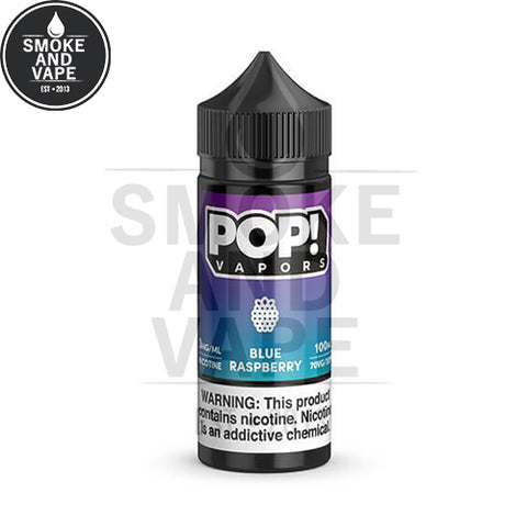 Blue Raspberry by Pop! Vapors 100ml