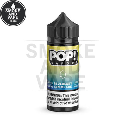 Blueberry Lemonade by Pop! Vapors 100ml