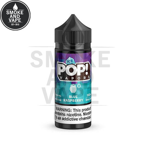Blue Raspberry Ice by Pop! Vapors 100ml