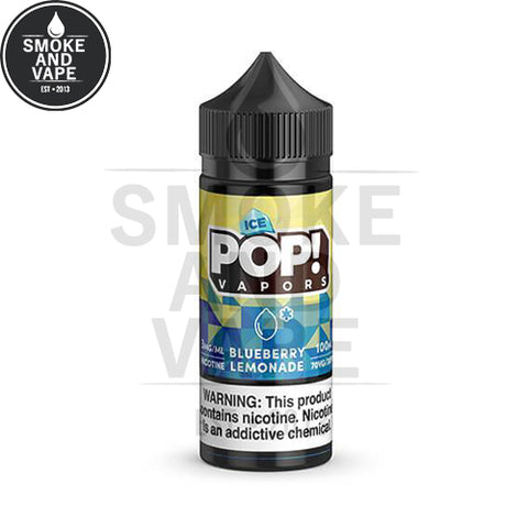 Blueberry Lemonade Ice by Pop! Vapors 100ml