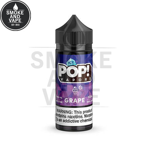 Grape Ice by Pop! Vapors 100ml