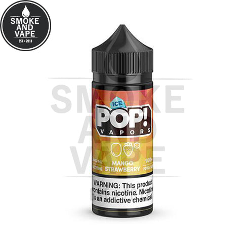 Mango Strawberry Ice by Pop! Vapors 100ml