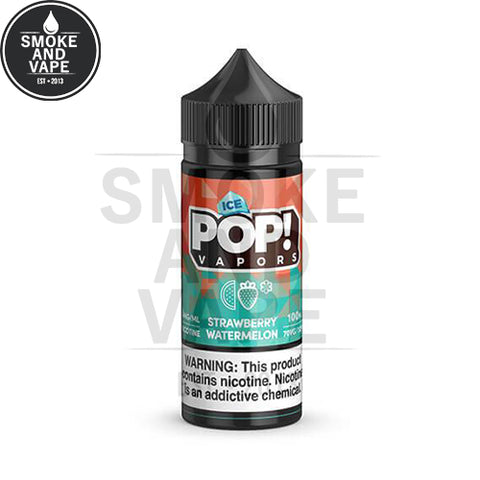 Strawberry Watermelon Ice by Pop! Vapors 100ml