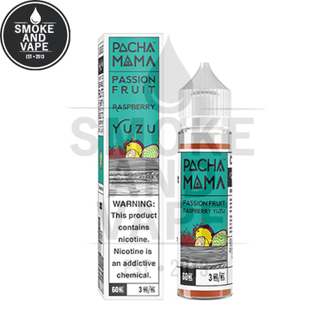 Passion Fruit Raspberry Yuzu by Pachamama 60ml