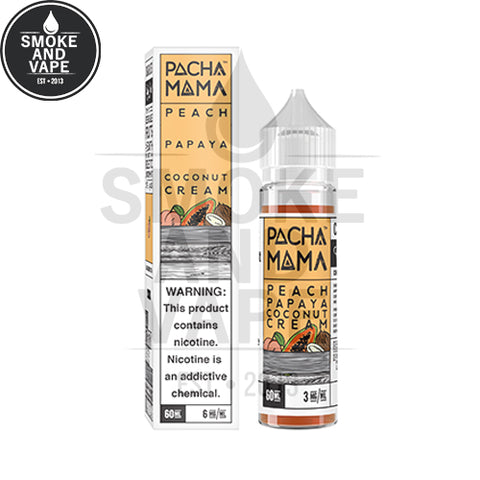 Peach Papaya Coconut Cream by Pachamama 60ml