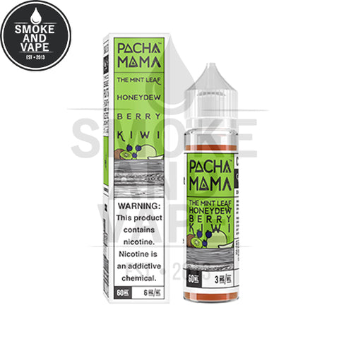 The Mint Leaf Honeydew Berry Kiwi by Pachamama 60ml