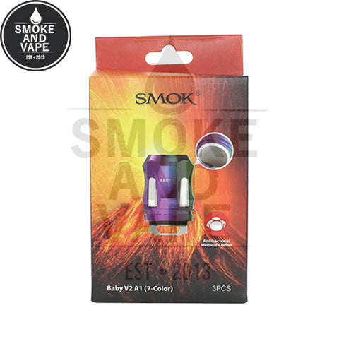 TFV8 Baby V2 Rainbow Replacement Coils by SmokTech