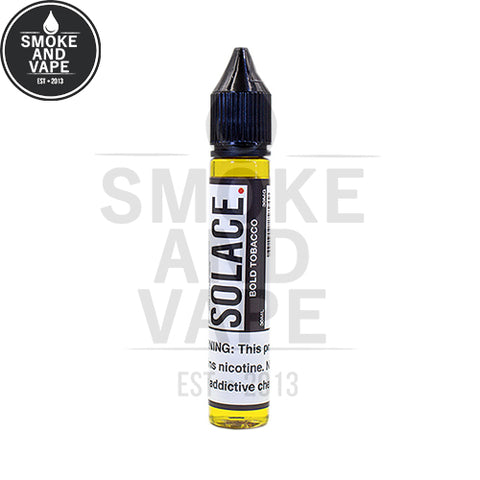 Bold Tobacco Nicotine Salt by Solace 30ml