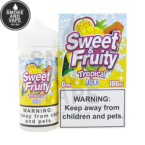 Tropical Ice by Sweet & Fruity 100ml