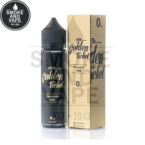 Chocolate Milk by The Golden Ticket 60ml