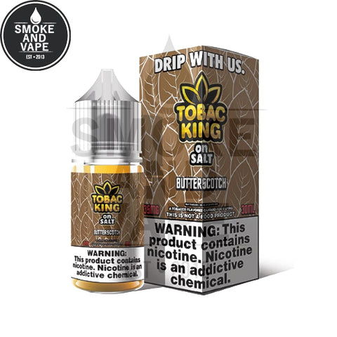 Butterscotch by Tobac King On Salt 30ml