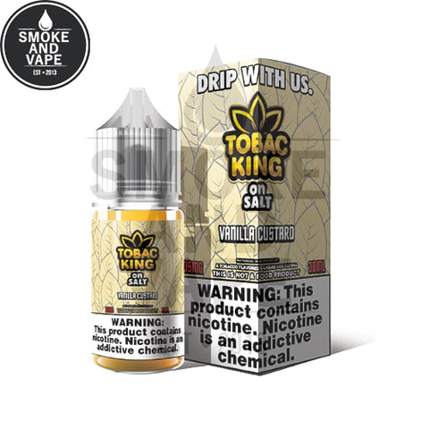 Vanilla Custard by Tobac King On Salt 30ml