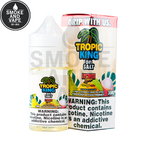 Lychee Luau by Tropic King On Salt 30ml