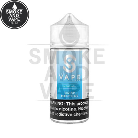 Crisp Menthol by USA Vape Lab 100ml