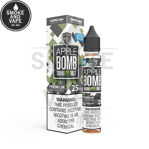 Iced Apple Bomb by VGOD Salt 30ml