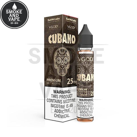 Cubano by VGOD Salt 30ml