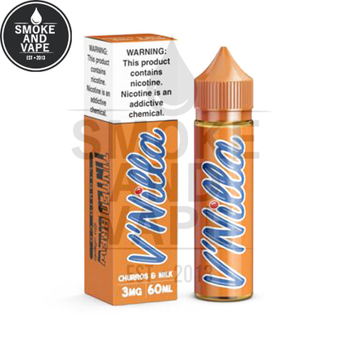 V'Nilla Churros & Milk by Tinted Brew 60ml