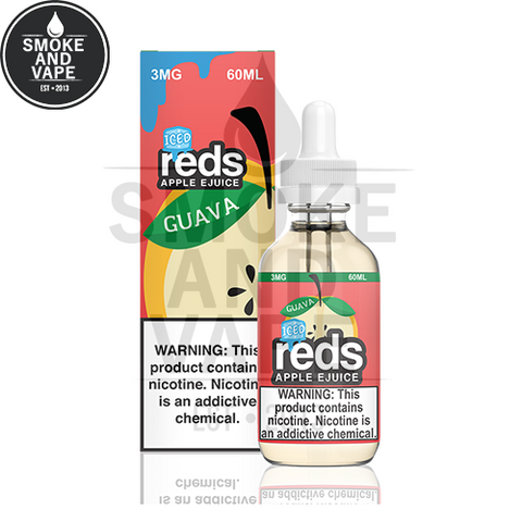 Guava Reds Apple Iced by Vape 7 Daze 60ml