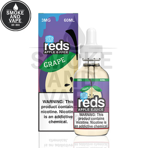 Grape Reds Apple Iced by Vape 7 Daze 60ml