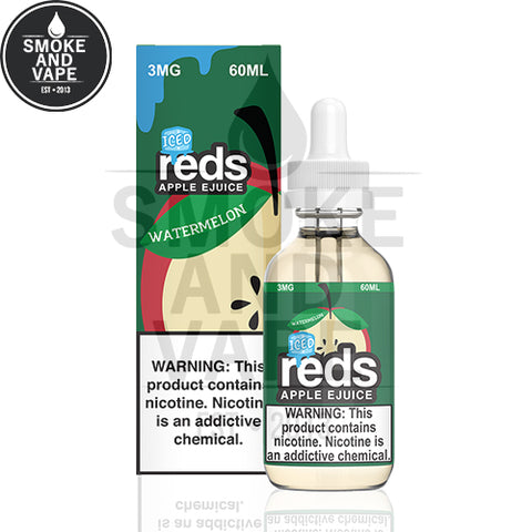 Watermelon Reds Apple Iced by Vape 7 Daze 60ml