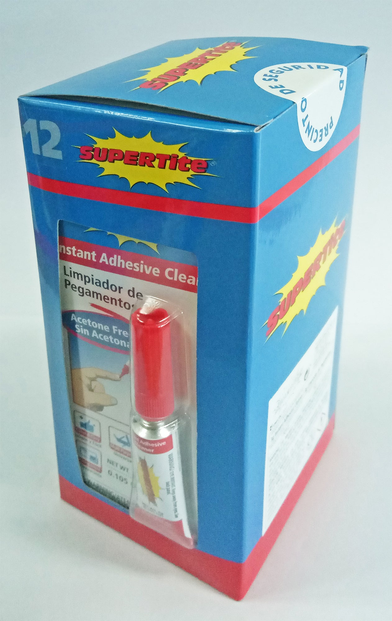 Ref-1012 Supertite Instant Adhesive Cleaner- 3g (0.105oz) Tube