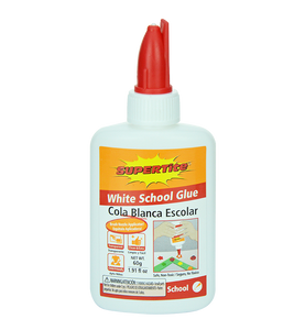 Ref-1023 Supertite White School Glue- 60g (1.91oz) comb cap bottle