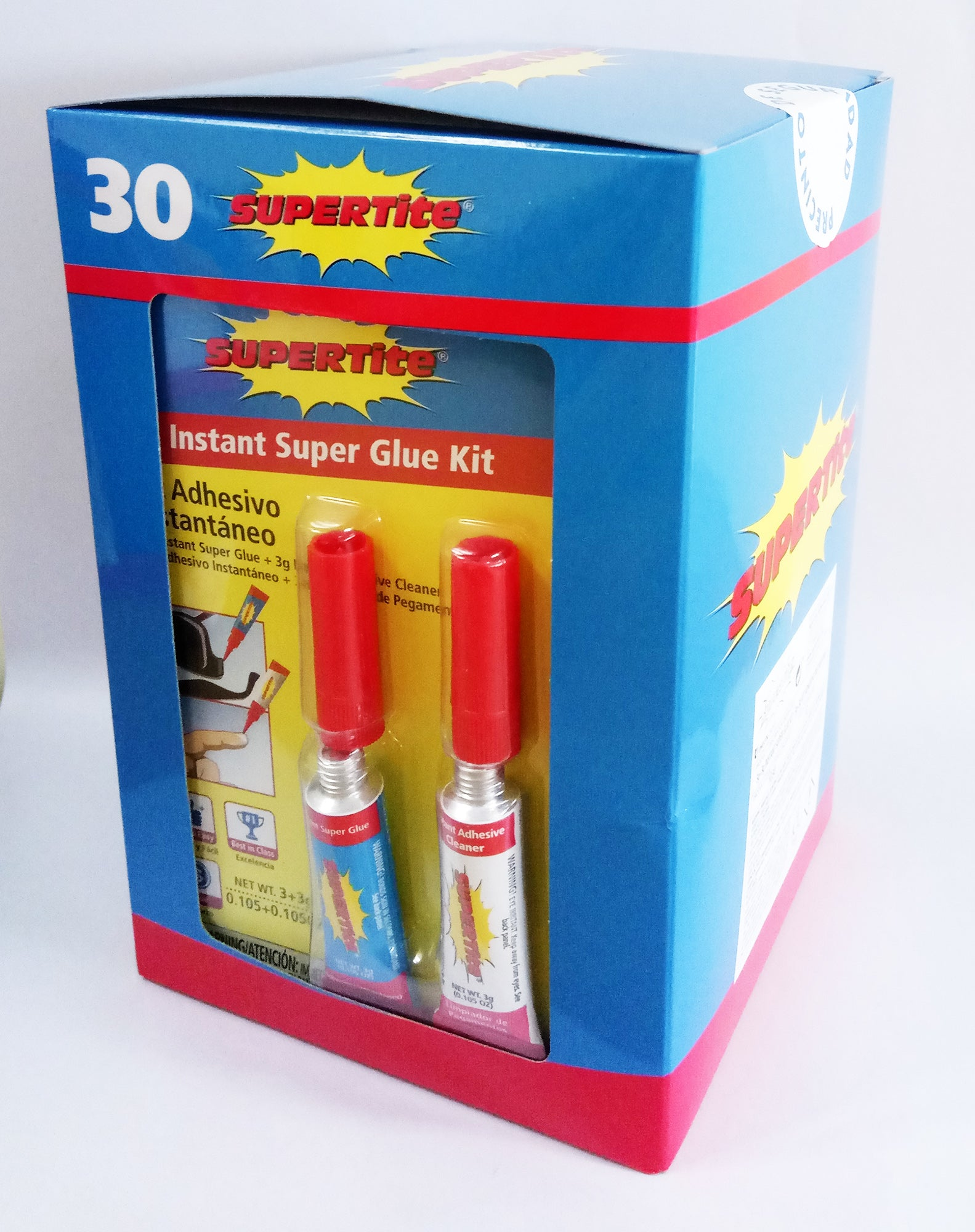 Ref-1030 Instant Glue Kit (Instant Super Glue + Remover)- 2x3g (2x.105oz)