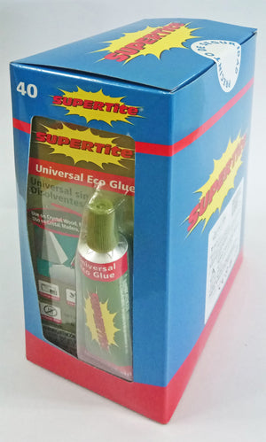 Ref: 1040 UNIVERSAL ECO GLUE 20g/0.63oz (Non-Toxic / Child Safe)