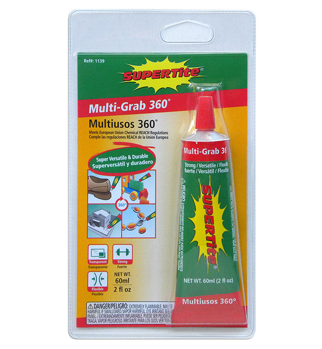 Ref-1139 MULTI-GRAB 360 (Versatile-Low Odor-Permanent)- 60ml(2oz) Tube