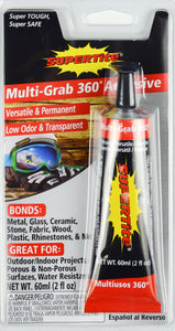 Ref-1139 Supertite MULTI-GRAB 360 (Versatile-Low Odor-Permanent)- 60ml(2oz) Tube