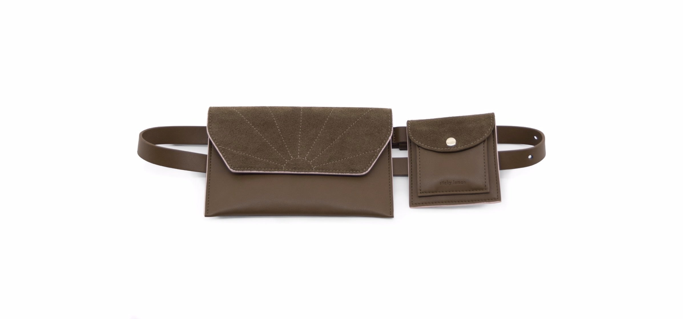 Belt Bag - Olive Green