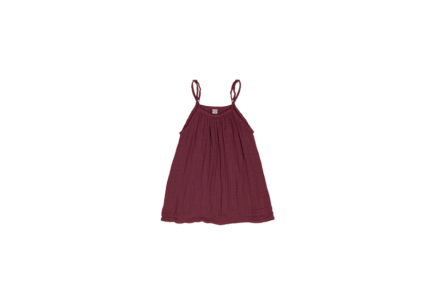 Mia Dress - Red Macaron - Discontinued Colour