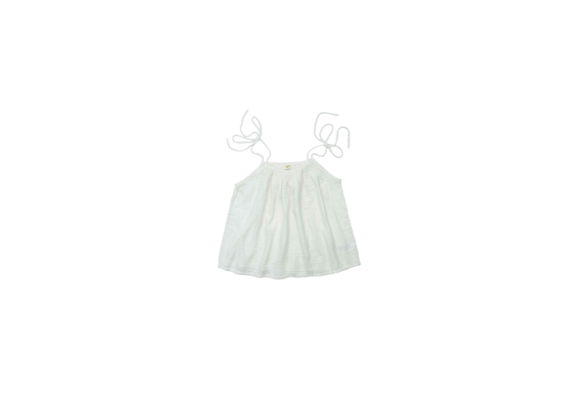 Mia Mum Top - White