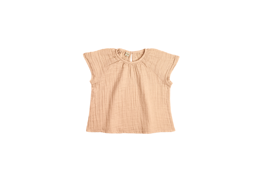 Clara Top - Pale Peach