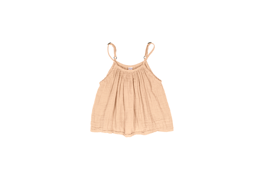 Mia Top - Pale Peach