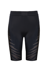 Super Stretch Cycle Shorts: Zebra