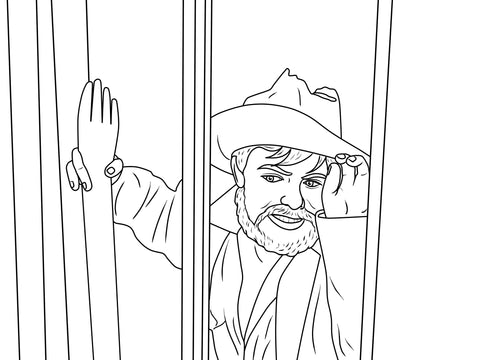 Torgo Coloring Book Image