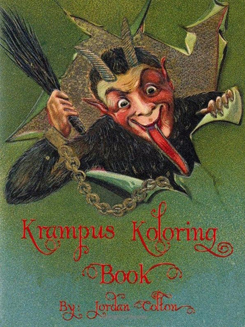 Krampus Koloring Book Vol 1