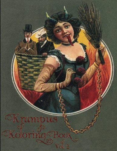 Krampus Koloring Book Vol 2