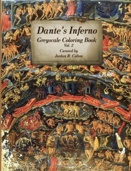 Dante's Inferno Greyscale Coloring Book Vol 2