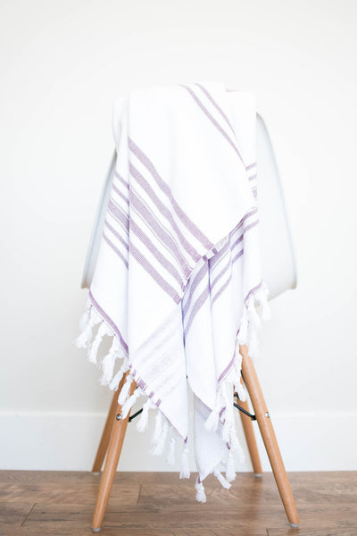 towel - plum